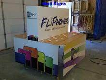Mall Kiosk Sign