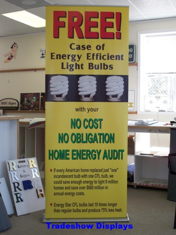 Trade Show Signage - Retractable Banner