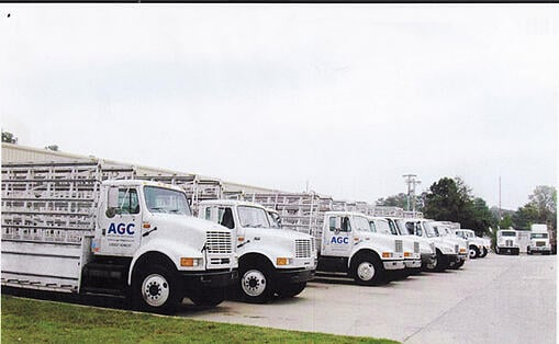 Fleet Graphics - AGC Trucks
