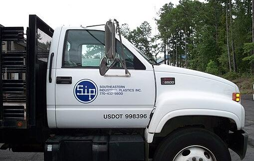 Vehicle Graphics - Southern Industrial Plastics
